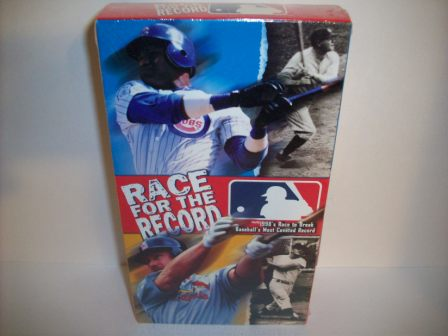 "McGwire/Sosa ""Race For The Record"" VHS Videotape (SEALED)"